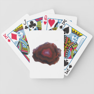 Red Agate Bicycle Playing Cards