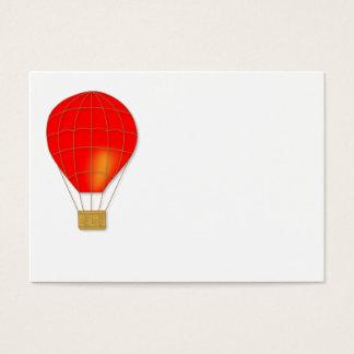 Red air balloon business card