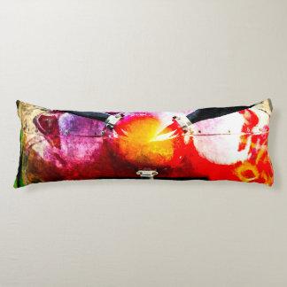 Red Aircraft - Small But Fierce Body Pillow