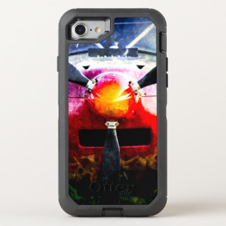 Red Aircraft - Small But Fierce OtterBox Defender iPhone 7 Case