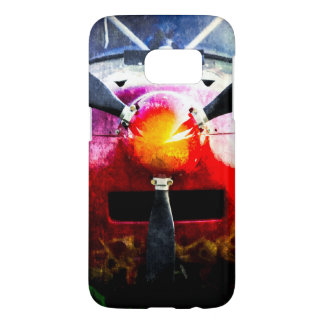Red Aircraft - Small But Fierce Samsung Galaxy S7 Case