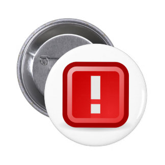 Red Alert 2 Inch Round Button