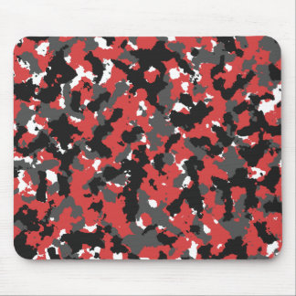 Red Alert Camo Mouse Pad