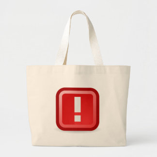 Red Alert Large Tote Bag