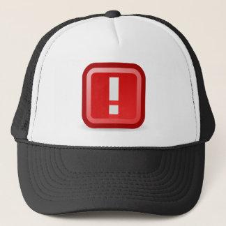 Red Alert Trucker Hat