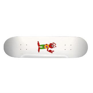 Red Alien Skate Board