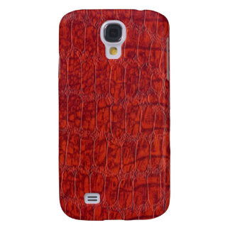 Red Alligator Leather Pattern Speck Case iPhone 3G