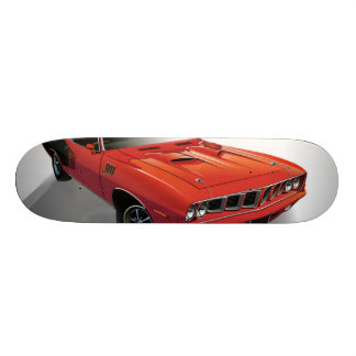 Red American muscle car Skateboards