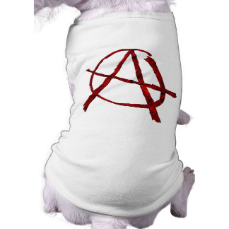 Red Anarchy Pet Tee