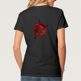 Red Anarchy Symbol T-Shirt
