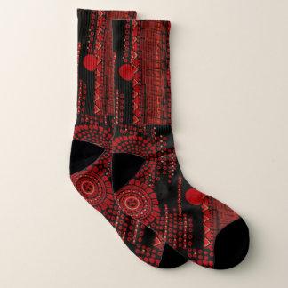 Red and Black Art Moderne Design 1
