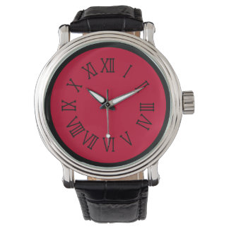Red and Black by Julie Everhart Watches