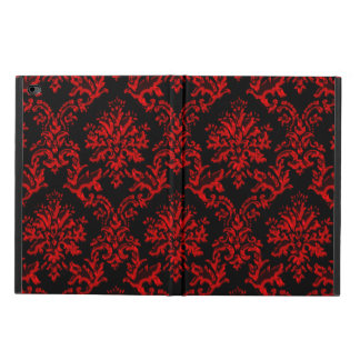 Red and Black Damask iPad Air 2 Case