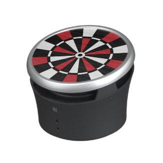 Red and Black Dartboard Speaker