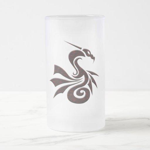 Red and Black Dragon Mug