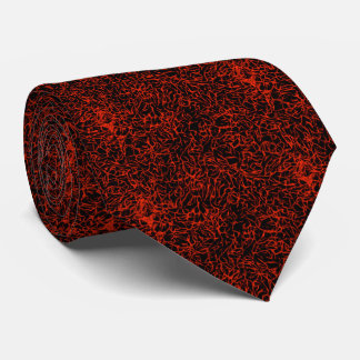 Red and Black Finely Marbleized Book Paper Tie
