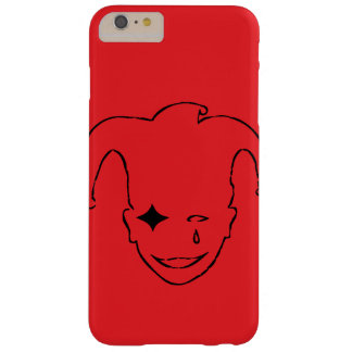 Red And Black MTJ Barely There iPhone 6 Plus Case