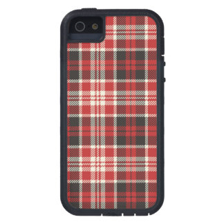 Red and Black Plaid Pattern iPhone 5 Covers