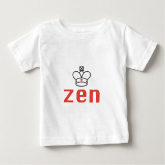 RED AND BLACK QUEEN ZEN MEDITATION AND INTUITION BABY T-Shirt