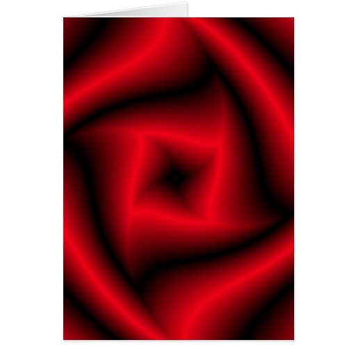 """Red and black """"rose"""" background greeting cards"""