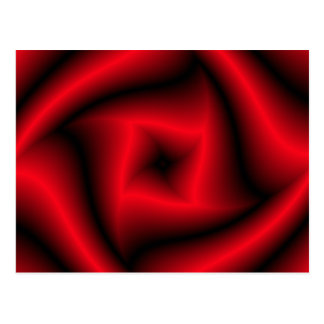 """Red and black """"rose"""" background postcards"""
