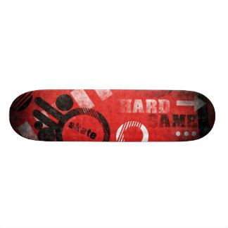 Red and Black Skate Board Decks