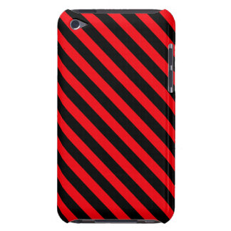 Red and Black Stripes Case-Mate iPod Touch Case
