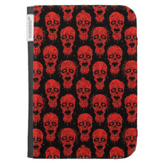 Red and Black Zombie Apocalypse Pattern Kindle Covers