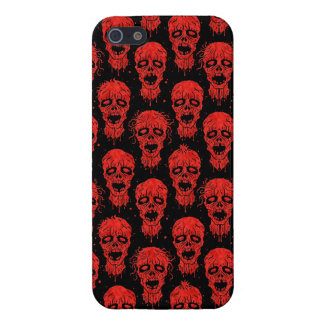 Red and Black Zombie Apocalypse Pattern Cases For iPhone 5