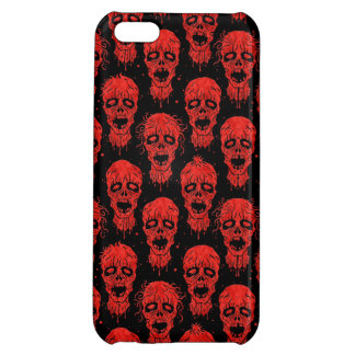 Red and Black Zombie Apocalypse Pattern Case For iPhone 5C