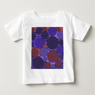 Red and blue hypnoses baby T-Shirt