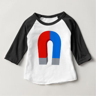 Red And Blue Magnet Baby T-Shirt