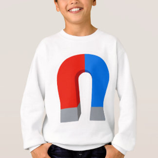 Red And Blue Magnet Sweatshirt