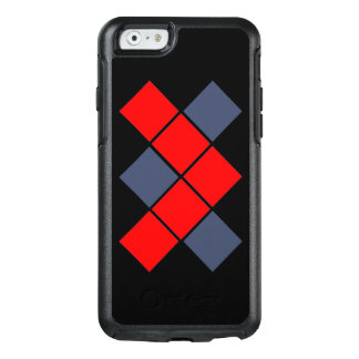 Red and Blue OtterBox iPhone 6/6s Case
