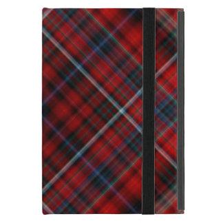 Red and Blue Plaid iPad Mini Folio Case iPad Mini Covers