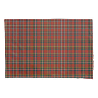 Red and Blue Royal Stewart Scottish Plaid Pillowcase
