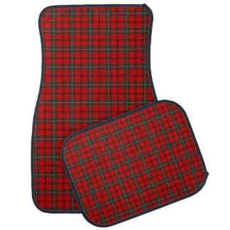 Red and Forest Green Scott Clan Tartan Car Mat