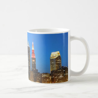 Red and Gold Cleveland OH Mug