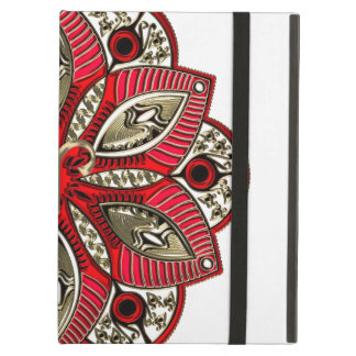 Red and Gold Zodiac Sign Aries iPad Air Case