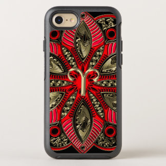 Red and Gold Zodiac Sign Aries OtterBox Symmetry iPhone 8/7 Case
