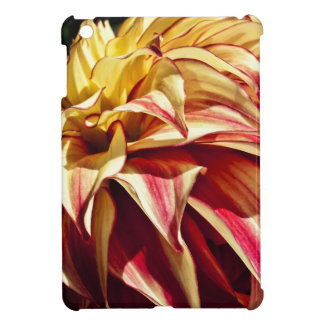 Red and Golden yellow Dahlia flower Case For The iPad Mini