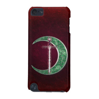 Red And Green Celtic Moon iPod Touch 5G Covers