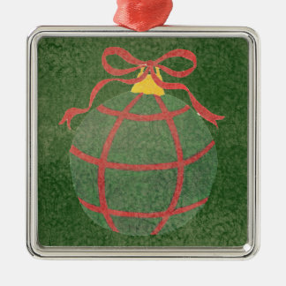Red and Green - Christmas Tree Ornament