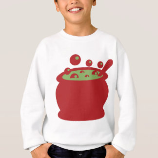 Red and Green Cooking Pot Sweatshirt