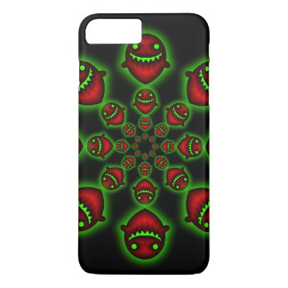 Red and Green Ghosts iPhone 7 Plus Case