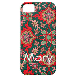 Red and Green Moroccan Pattern Cases