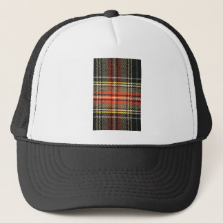Red and Green Tartan Trucker Hat