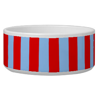 Red and Light Blue Stripes