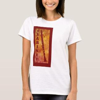 Red and Orange Clarinet T-Shirt
