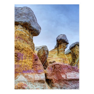 Red and Orange Hoodoos Postcard